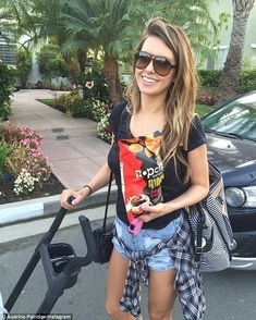 Three months after giving birth Audrina Patridge seems to be loving every moment of motherhood.