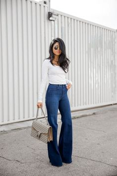 b7d502038d6 6 Ways to Inject a Vintage Vibe to Your Spring Look – Glam Radar. How To  Wear High Waisted ...