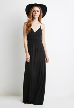 Long maxi black dress from Forever Red And Blue Dress, Cute Maxi Dress, Maxi Dresses, Fancy Dress, Freckles Girl, Pregnancy Wardrobe, Maternity Wardrobe, Casual Dresses, Summer Dresses