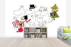 Moomins wall murals by Photowall