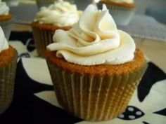 """Cybele Pascal's Food Allergy Friendly Caramel Cupcakes with Caramel """"Buttercream"""" Frosting"""