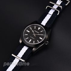 Parnis Sapphire Glass Japan Automatic Men Mechanical Watch 40mm PVD Coated Case #parnis #Sport