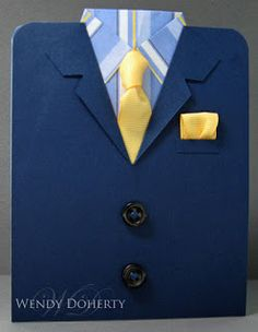 Stamping Styles: Jacket, Shirt and Tie
