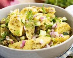 Recette de Salade de pommes de terre aux herbes fraîches