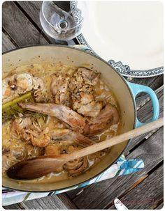 lapin à la moutarde du dimanche ! #recette #confortfood