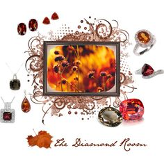 """""""Fall Is In Full Bloom At The Diamond Room"""" by the-diamond-room on Polyvore"""