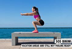 Vous ne vous sentez pas encore prête pour les vacances et le bikini, mais vous êtes sur le point de partir. Voici des exercices SOS Bikini! Plus sur www.rosportlife.com