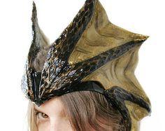 A dragon hat.