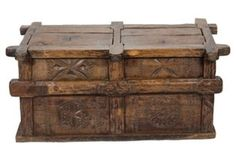 19th-C. Indian Grain Chest | Ode to Wanderlust | One Kings Lane