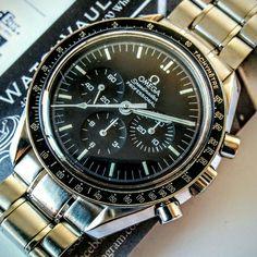 #omega #speedmaster #moonwatch #sold to #collector in #fortlauderdale #florida - more #watchforsale at www.watchvaultnyc.com #watchporn
