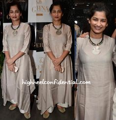 Gauri Shinde In Payal Khandwala At Shaheen Abbas For Gehna Jewellery Collection Unveiling