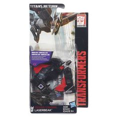 Laserbeak In-Package Image of Titans Return Legends Class Transformers Toy