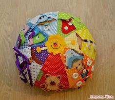 Еще одна очень интересная интернетовская находка - идея для подушки-игрушки.