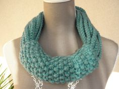 Woolen collar snood By Bahia Del Sol by KateDeslong on Etsy, €48.00