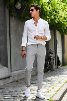 Best Men's Casual Outfits For Summer Ideas 25 - clothme.net