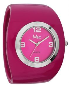 Mc Womens  Fashion Pink Bangle Watch  FC0332 -- Learn more by visiting the image link.