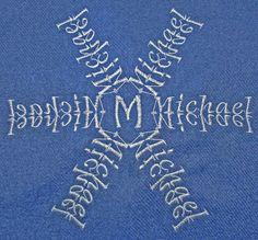 Kado Hearts - Personalized snowflake name - Michael
