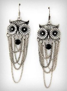 I've been looking for a cute pair of owl earrings