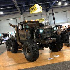 Dodge Power Wagon built by Hauk Rc Trucks, Dodge Trucks, Diesel Trucks, Custom Trucks, Cool Trucks, Pickup Trucks, Custom Cars, 6x6 Truck, Dodge Cummins