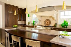 A kitchen made for socializing!