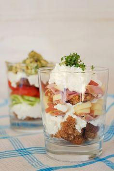 Frl. Moonstruck kocht!: Sandwiches im Glas