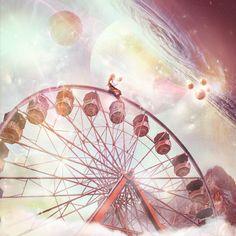 Galactic Ferris Wheel by SoulcolorsArt on DeviantArt