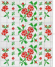 Cross Stitch Letters, Cross Stitch Borders, Cross Stitch Rose, Cross Stitch Flowers, Cross Stitch Designs, Cross Stitching, Cross Stitch Embroidery, Loom Patterns, Stitch Patterns