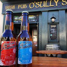 Irish pub - O'sully's - la gorge fraiche s'invite au bar - craft beer - Béziers - france - bière artisanale - je suis en terrasse - brassée dans le midi - les anciens font une pause - détente - SUD
