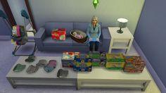 Sanitation Station Baby Changing Table at Dri4na • Sims 4 ...