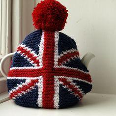 Free Union Jack Tea Cosy Pattern on Ravelry