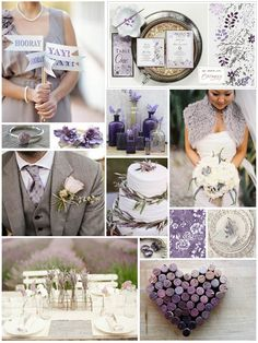 Lavender Inspiration Board