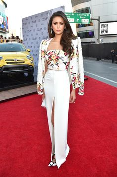 Pin for Later: See All the Stars on the AMAs Red Carpet!  Pictured: Nina Dobrev