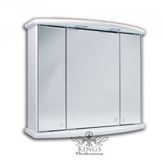 Web Image Gallery Bathroom mirror cabinets with lights