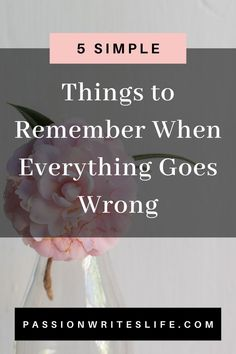 Are you going through a tough time in your life? When things in life don't work out, it can be devastating. Don't get discouraged. Tough times aren't meant to last. If you're going through a difficult period in your life, here 5 things to remember when everything in life goes wrong. Feeling Lost, How Are You Feeling, When Everything Goes Wrong, Positive Thoughts Quotes, Find Your Calling, Inner Peace Quotes, Quarter Life Crisis, Stress Quotes