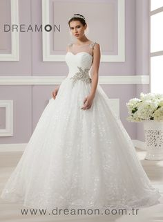 DreamOn Bridals wedding dress by Chrysalis wedding shops from Hungary.