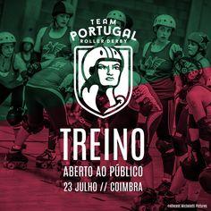PT] No dia 23 de Julho vai ter lugar em Coimbra o terceiro treinoda seleção nacional de Roller Derby. Este serápenúltimo treino aberto da seleçãoantes do Campeonato da Europa. A competiçã…