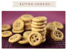aaah BUTTON cookies...