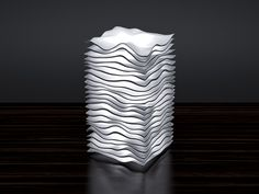 Download and print. :-) I recommend 25-35 cm. in height. High quality version: http://www.cgtrader.com/3d-print-models/house/lighting/wave-lamp