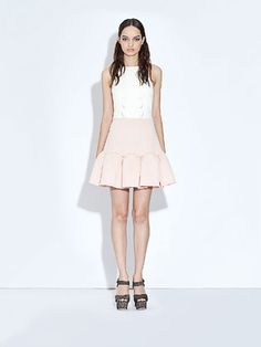 Swoon Scallop Dress from Three Floor Fashion