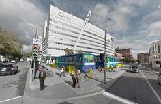 MR-VÉLO : Requalification Des Voitures De Métro | Groupe Leclerc Architecture Design, Street View, Walk In, Architecture Layout, Architecture