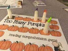 pumpkin kindergarten activities