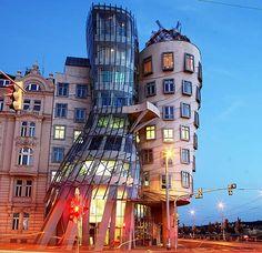 Dancing House i Prag, Tjeckien