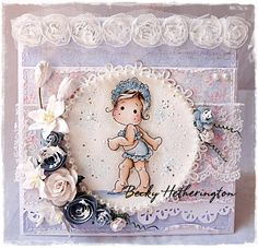 Add Lace at The Ribbon Girl Magnolia Challenge