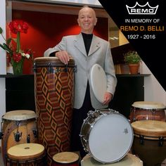 Safe travel.. and thanks again! #Remo #RemoBelli #legend #remopercussion #drums #drummer #Gabriella #Ruggieri #1blog4u #blogger