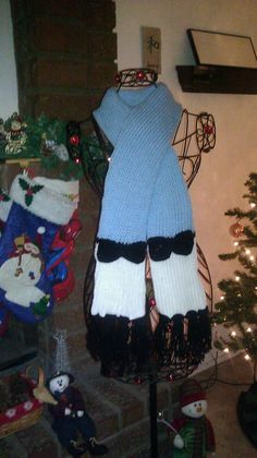 Alice in wonderland inspired scarf by michelesdesignsbymp on Etsy, $20.00