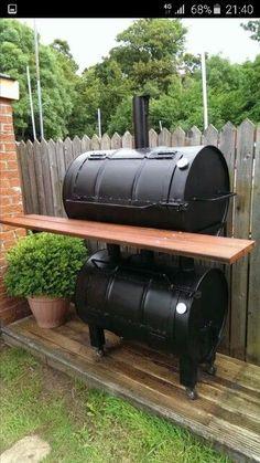 best ideas about Homemade Smoker Barrel Bbq, Barrel Smoker, Bbq Pit Smoker, Diy Smoker, Barbecue Smoker, Homemade Smoker Plans, Grilling, Smoker Ribs, Homemade Grill
