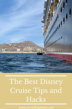 107 Disney Cruise Tips and Hacks You Have to Know Before You Sail 2019 - EverythingMouse Guide To Disney Best Disney Cruise Ship, Disney Cruise Europe, Disney Wonder Cruise, Disney Fantasy Cruise, Best Cruise Ships, Cruise Vacation, Disney World Secrets, Disney World Tips And Tricks, Family Vacation Destinations