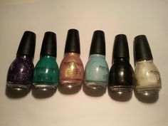 Sinful Colors: Frenzy,Rise & Shine, You Just Wait, Cinderella, Secret Admirer and Tokyo Pearl. Nail Polish Sale, Secret Admirer, Sinful Colors, Sale Uk, Tokyo, Cinderella, Lipstick, Pearls, Beauty