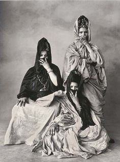"Irving Penn's ""Veiled Mystery of Morocco"""