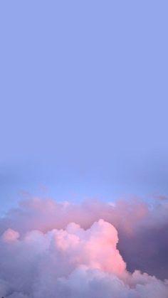 Halbmond im Himmel # Tapete - skandinavi… Clouds Wallpaper Iphone, Cloud Wallpaper, Purple Wallpaper, Aesthetic Pastel Wallpaper, Blue Wallpapers, Cute Wallpaper Backgrounds, Tumblr Wallpaper, Pretty Wallpapers, Galaxy Wallpaper